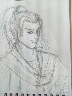 薔薇の着物の男.jpg